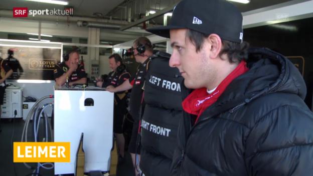 Video «Formel 1: Neuer Job für Fabio Leimer» abspielen