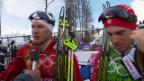 Video «Langlauf: Interview mit Dario und Gianluca Cologna (sotschi direkt, 19.02.2014)» abspielen
