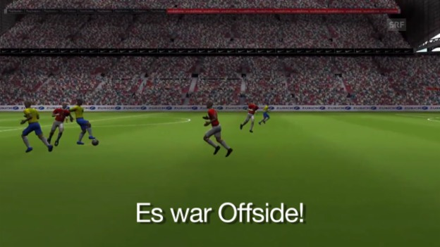 Video «Offside oder nicht? Die Trainingslektion» abspielen