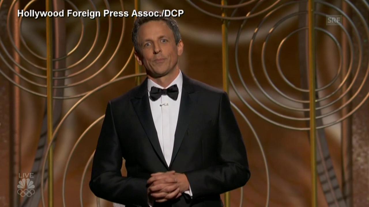Seth Meyers bitterböse über Harvey Weinstein