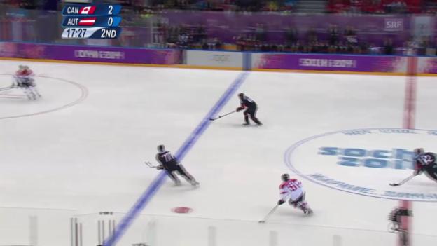 Video «Eishockey: Kanada - Österreich (sotschi direkt, 14.02.2014)» abspielen