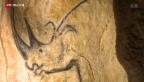 Video «Nachgemalte Steinzeitkunst in nachgebauter Höhle» abspielen