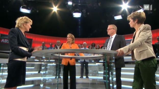 Video «Abstimmungs-Arena: Sicheres Wohnen im Alter» abspielen