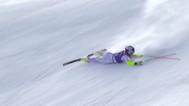 Video «Ski: Vonn scheidet in Aspen aus» abspielen