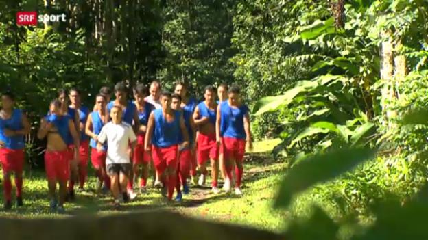 Video «Fussball: Tahiti am Confed Cup» abspielen
