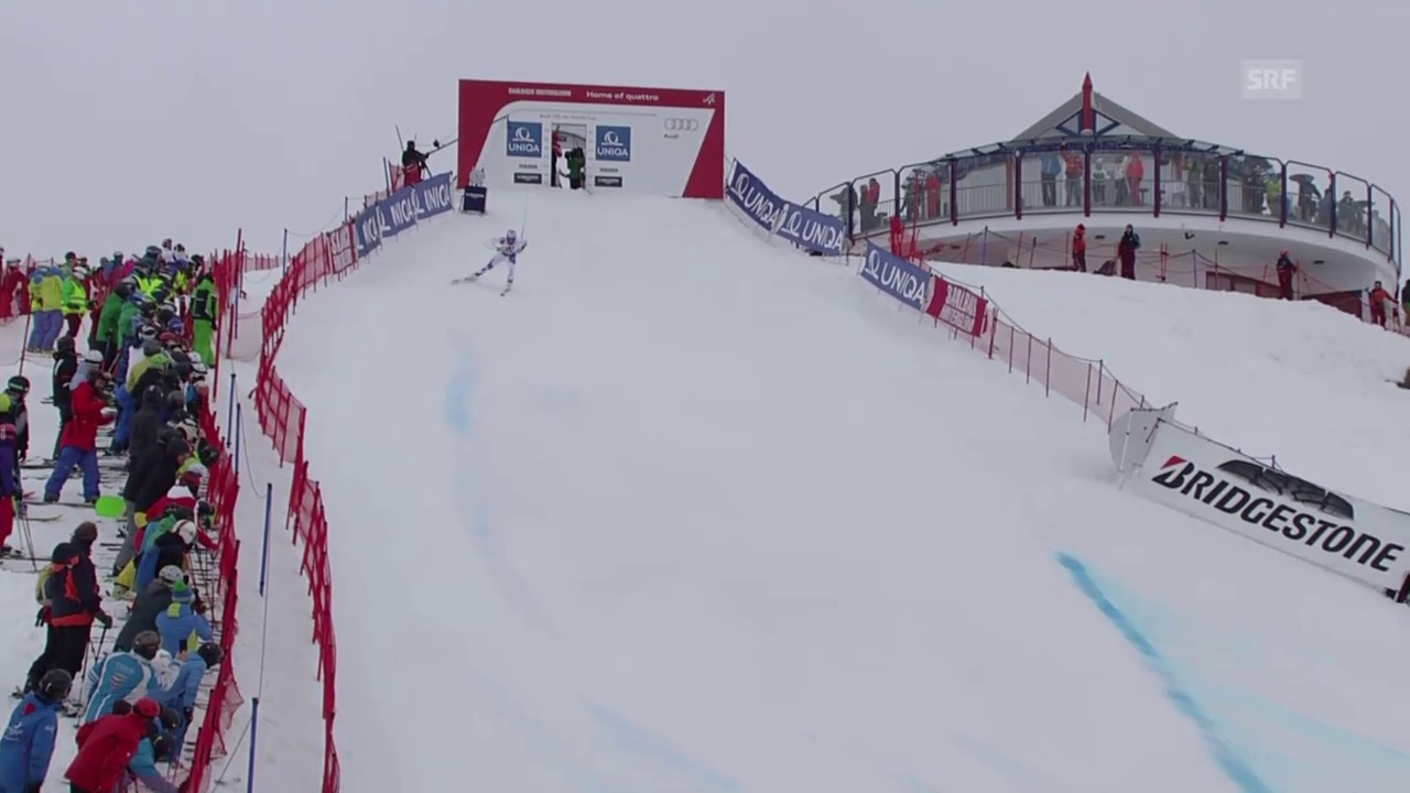 Ski: Fahrt Weber Abfahrt Saalbach