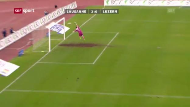 Video «Rang 6: Lausannes Marazzi gegen Luzern (8 %)» abspielen