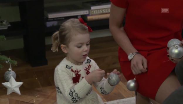 Video «Weihnachtsgrüsse der schwedischen Royals (unkom. Video)» abspielen