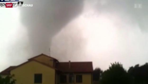 Video «Tornado in der Region Venedig» abspielen