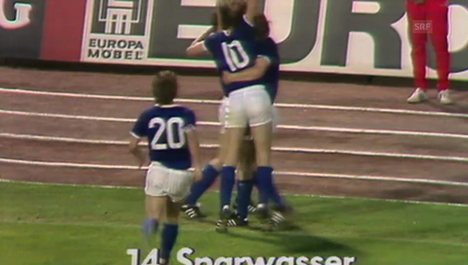 Fussball: WM, Rückblick 1974: BRD - DDR