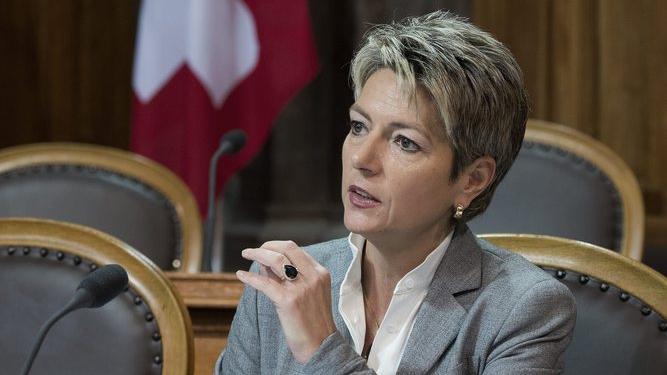 Karin Keller-Sutter zur Debatte im Ständerat (Philipp Gemperle, 29.11.2012)