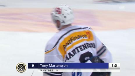 Video «Martensson stellt den Zweitore-Vorsprung wieder her» abspielen