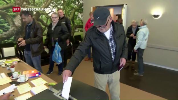 Video «Klares Nein zum Ukraine-Referendum» abspielen