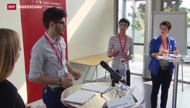 Video «Bildungsprojekt «Campus für Demokratie» lanciert» abspielen