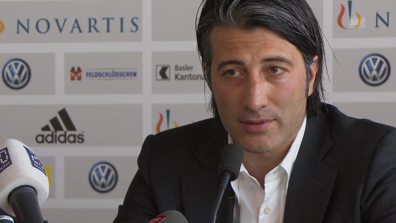 Fussball: Murat Yakin zur Trennung vom FCB