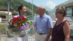 Video «Mit Charme und guter Laune aufs Geburtstagsschiff» abspielen