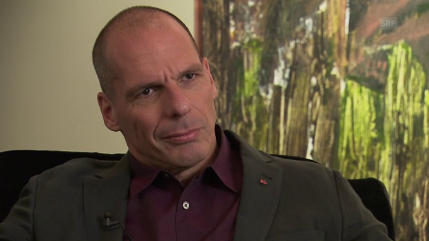 Video «Yanis Varoufakis im Interview» abspielen