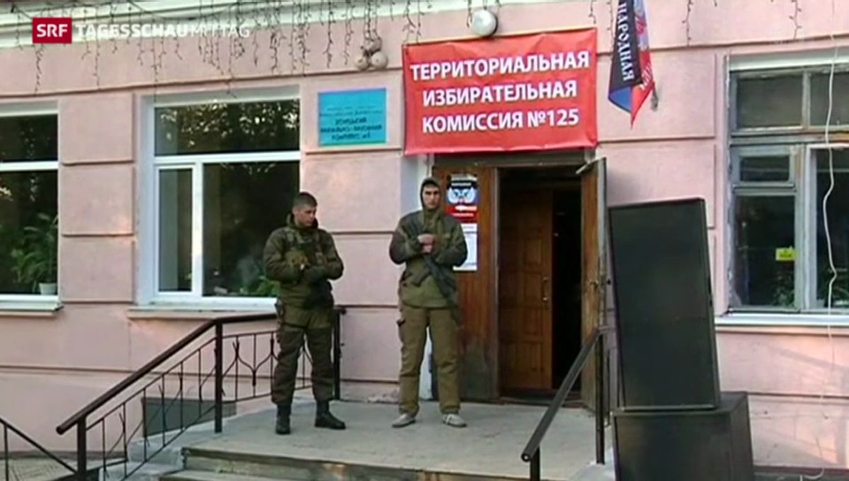 Wahlen in der Ostukraine