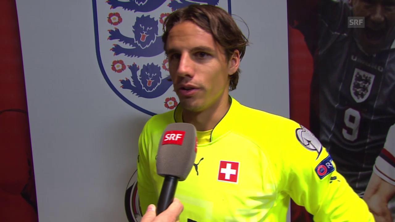 Fussball: EM-Quali, England - Schweiz, Yann Sommer im Interview