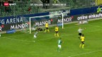 Video «SL: St. Gallen - YB» abspielen