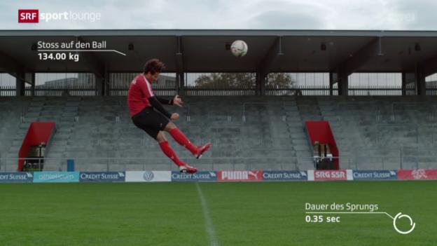 Video ««Schlusspunkt»: Der Kopfball» abspielen