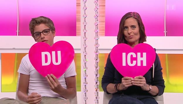 Video «Ich oder Du: Sandra Studer und Sohn Gian Müller» abspielen