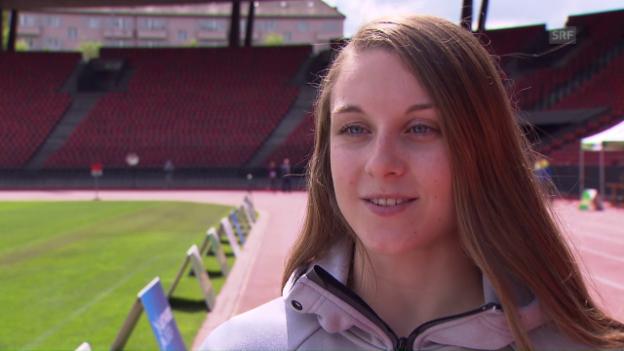 Video «Noemi Zbären über ihre EM- und Olympiaziele» abspielen
