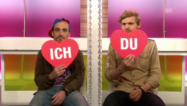 Video ««Ich oder Du»: DJ Arts und Dabu Bucher von «Dabu Fantastic»» abspielen