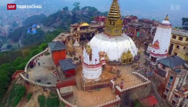 Video «Nepal im Ausnahmezustand» abspielen