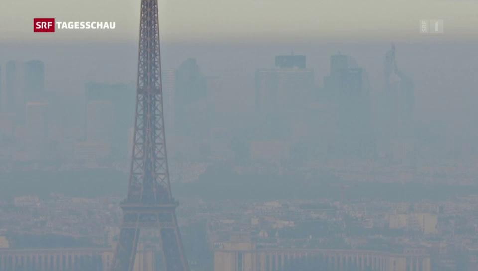 Aus dem Archiv: Smog in Paris