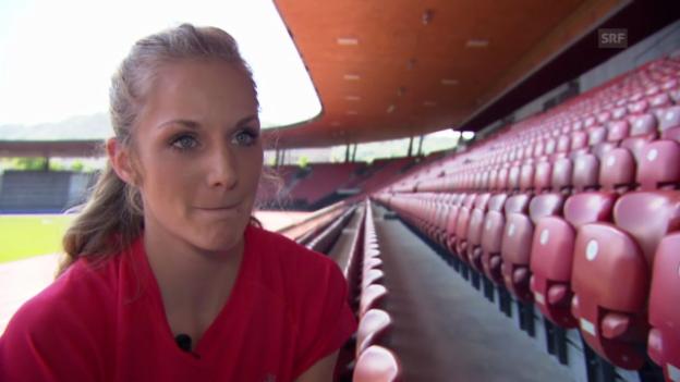 Video «Leichtathletik: Interview mit Lisa Urech» abspielen