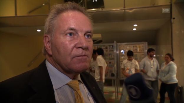 Video «Interview mit Denis Oswald» abspielen