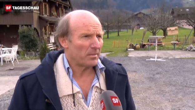 Video «Urs Hans ist enttäuscht über das Ja zum Tierseuchengesetz.» abspielen
