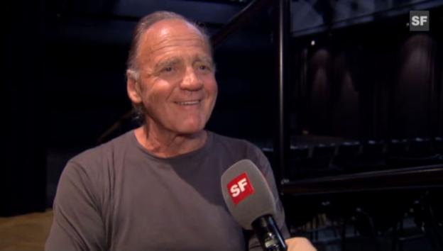 Video «Bruno Ganz über das Älterwerden als Schauspieler» abspielen