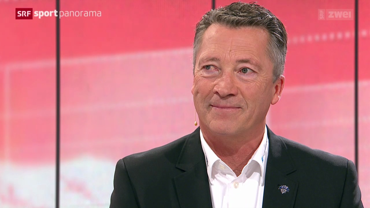 EVZ-Trainer Harold Kreis zu Gast im «sportpanorama»