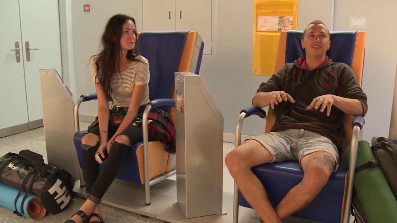 Zoriana & Anton, Tramper aus der Ukraine