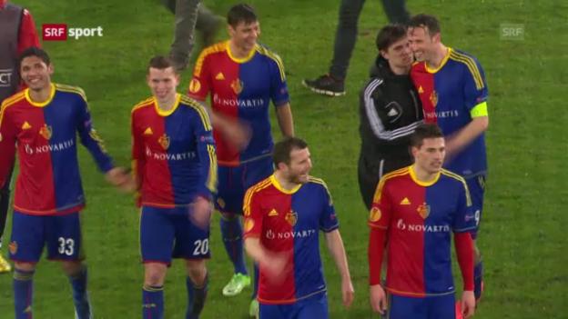 Video «EL-Auslosung: Basel trifft auf Chelsea («sportaktuell»)» abspielen