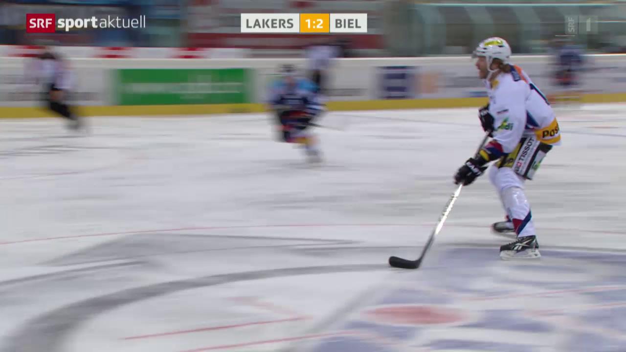 Eishockey: NLA, Lakers - Biel