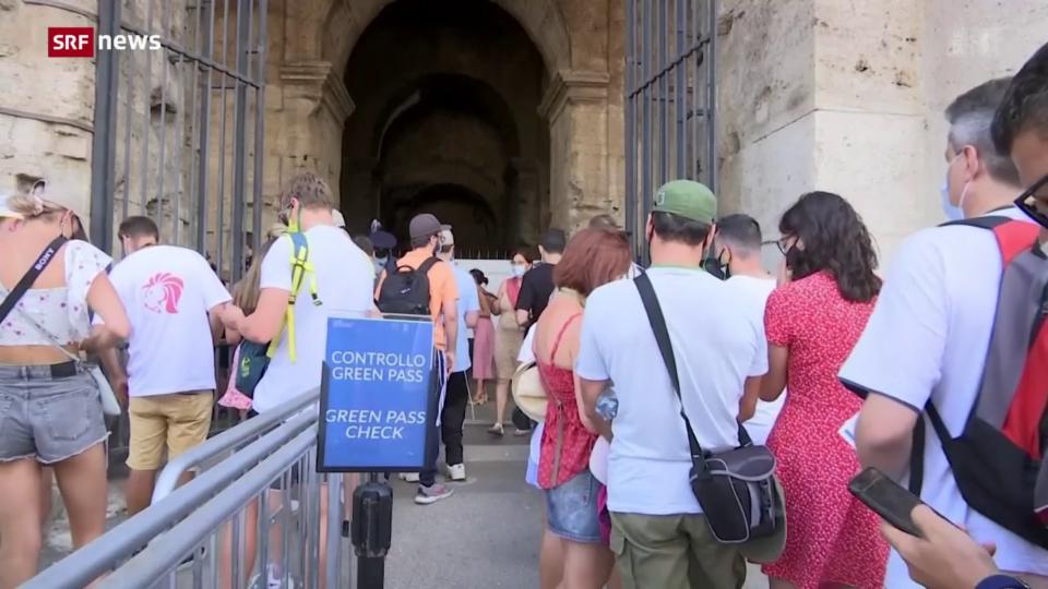 Italien setzt auf den Covid-Pass