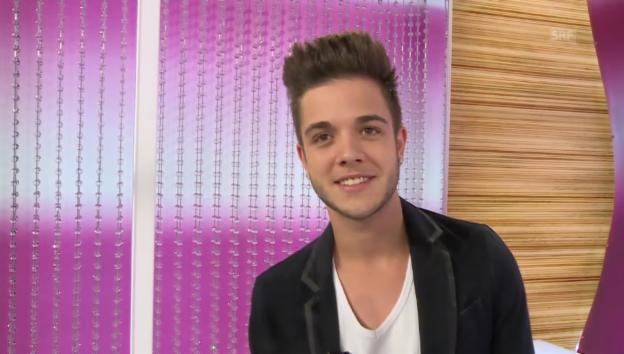 Video «Luca Hänni wird «g&g»-Gastmoderator» abspielen