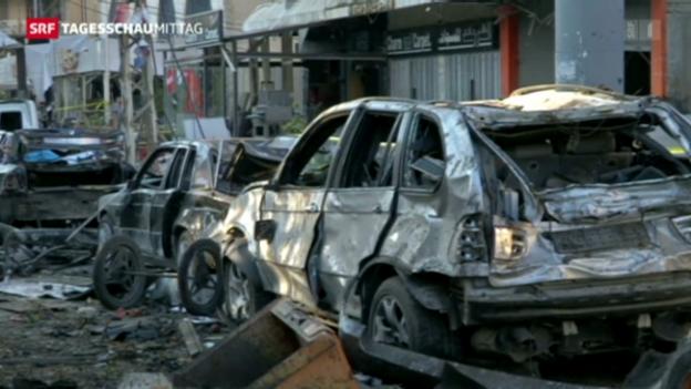 Video «Syrienkonflikt im Libanon spürbar» abspielen
