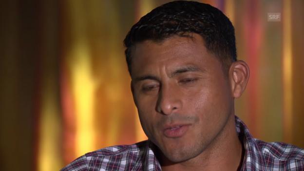 Video «Fussball: WM-2014, Honduras-Keeper Valladares im Porträt» abspielen
