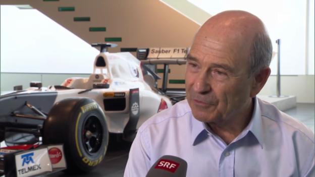 Video «Formel 1: Interview mit Peter Sauber» abspielen