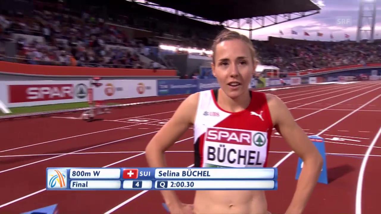 Der 800-m-Lauf mit Selina Büchel