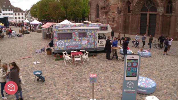 Video «politbox on tour #13: Live-Sendung aus Basel» abspielen