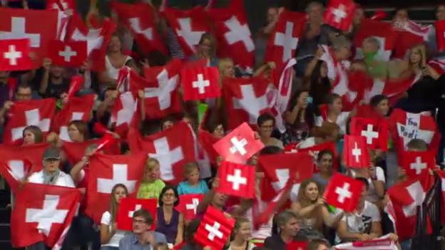 Video «Highlights Schweiz - Belgien («sportaktuell»)» abspielen