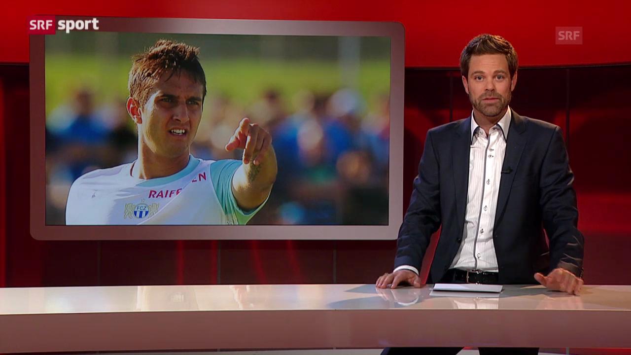 Fussball: Mario Gavranovic suspendiert («sportlounge»)