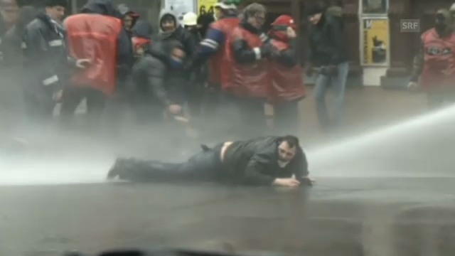 Heftiger Protest in Belgien gegen Stellenabbau