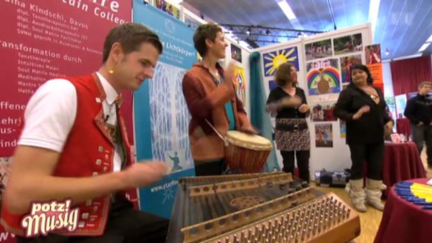 Video «Sennsationell: An der Esoterikmesse in Bern» abspielen