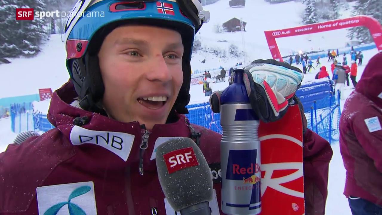 Kristoffersen gewinnt den Männer-Slalom in Wengen